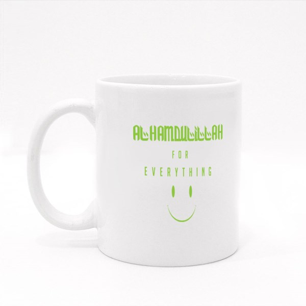 Alhamdulillah for Everything Colour Mugs