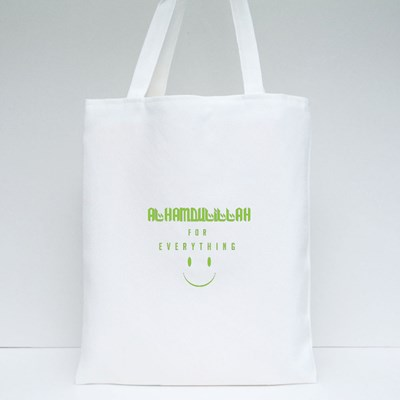 Alhamdulillah for Everything Tote Bags