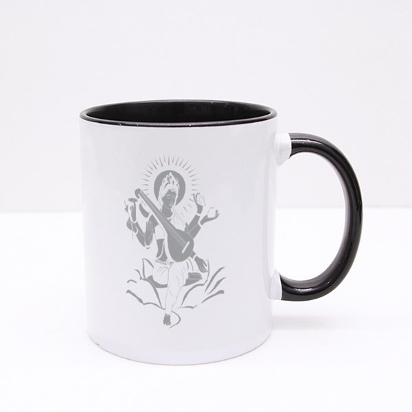 Lord Maa Saraswati Colour Mugs