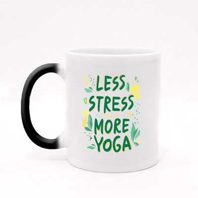 Less Stress More Yoga Magic Mugs