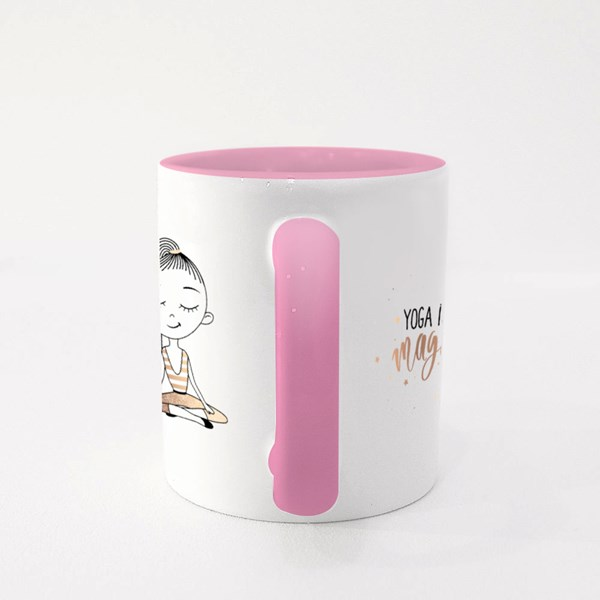 Yoga Is Magic for All Colour Mugs