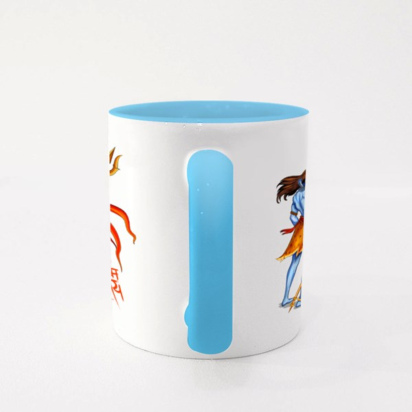 Om Namah Shivaya Colour Mugs