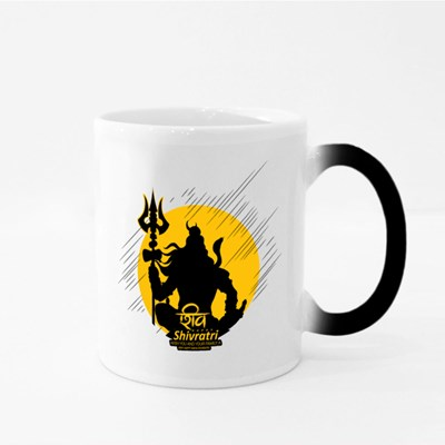 Happy Shivratri Magic Mugs