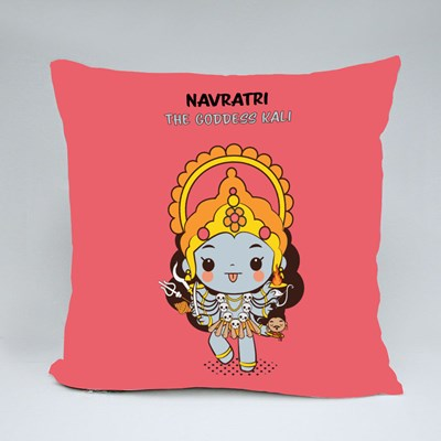 The Goddess Kali Throw Pillows