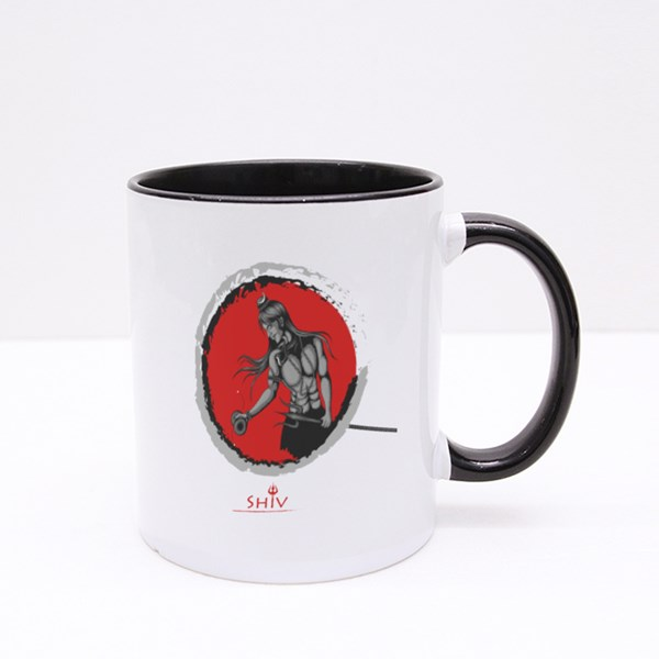 Shiva the Great God Colour Mugs