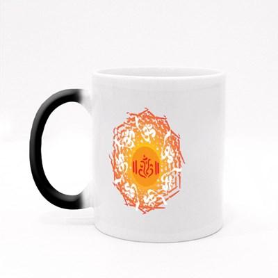 Ganesha Abstract Background Magic Mugs