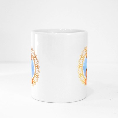 Lord Ganesha Holds a Lotus Magic Mugs