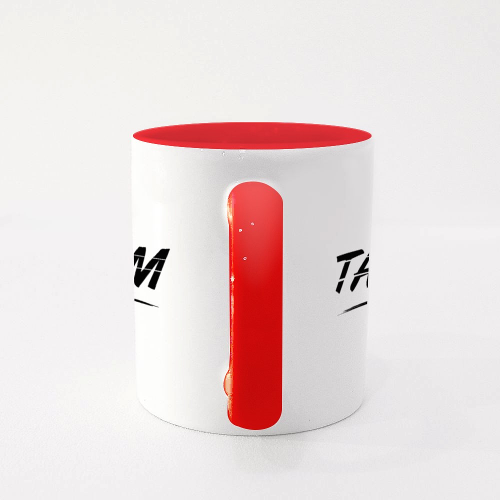 Taoism Text Word Colour Mugs