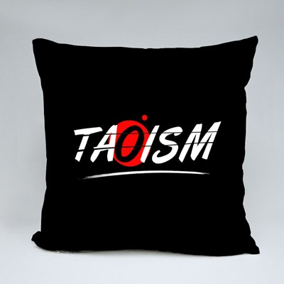 Taoism Text Word Throw Pillows