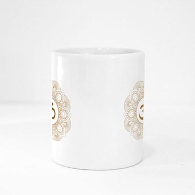 Golden Aum Om Ohm Magic Mugs