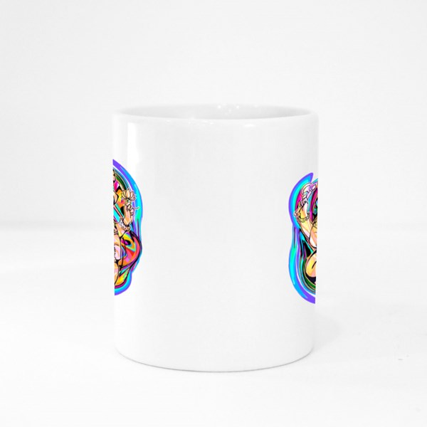 Lord Ganesha in Lotus Position Colour Mugs
