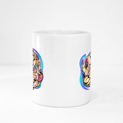 Lord Ganesha in Lotus Position Magic Mugs