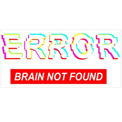Error Brain Not Found Magic Mugs
