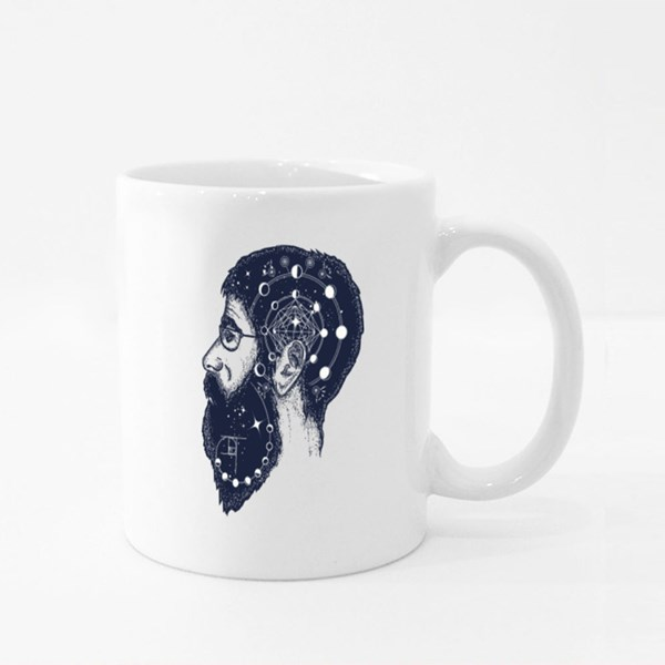 Scientist Tattoo Colour Mugs