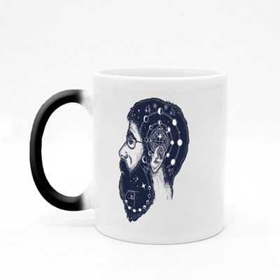 Scientist Tattoo Magic Mugs