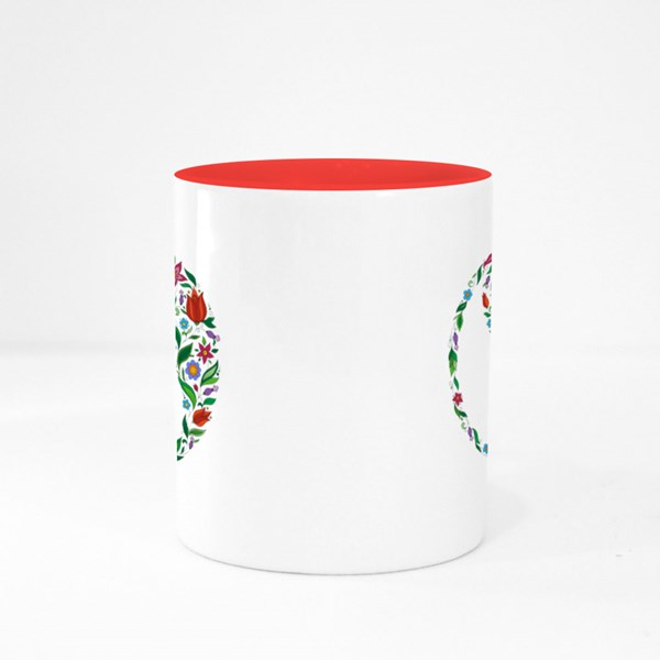Flower in the Crown of Leaves Colour Mugs