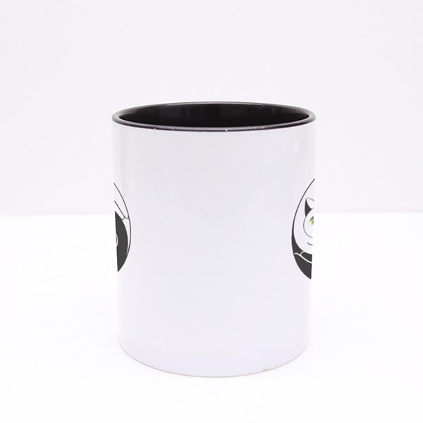 Cats Yin Yang Symbol Colour Mugs