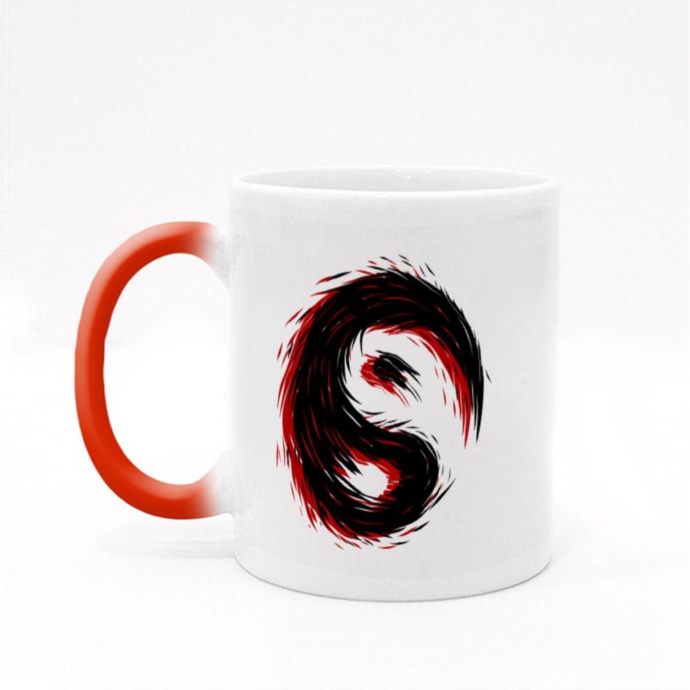 Ying Yang Tattoo Magic Mugs