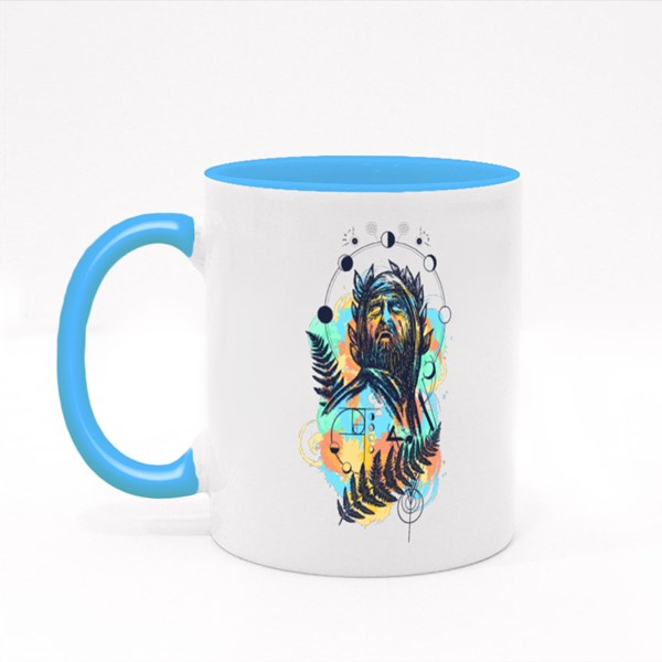 Great Prophet, Genius, Creator Colour Mugs