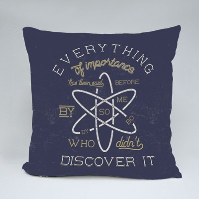 Stigler's Law of Eponymy Throw Pillows