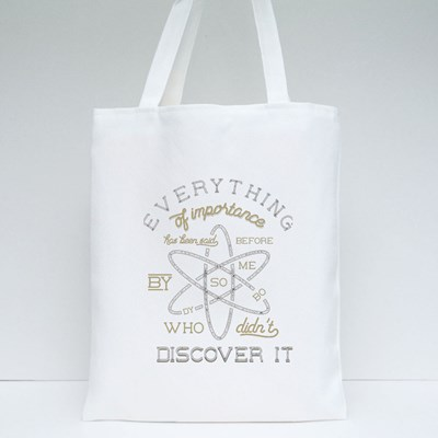 Stigler's Law of Eponymy Tote Bags