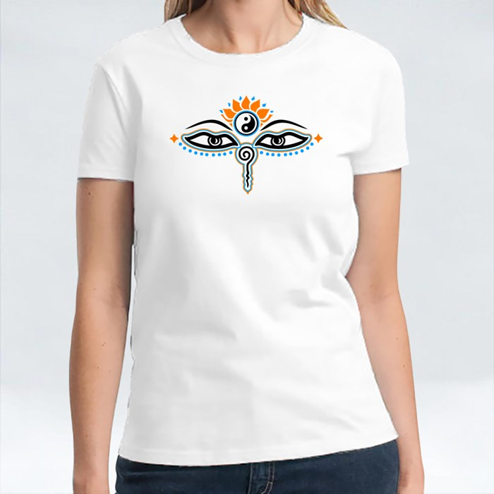 Yes of Buddha, Symbol Wisdom T-Shirts