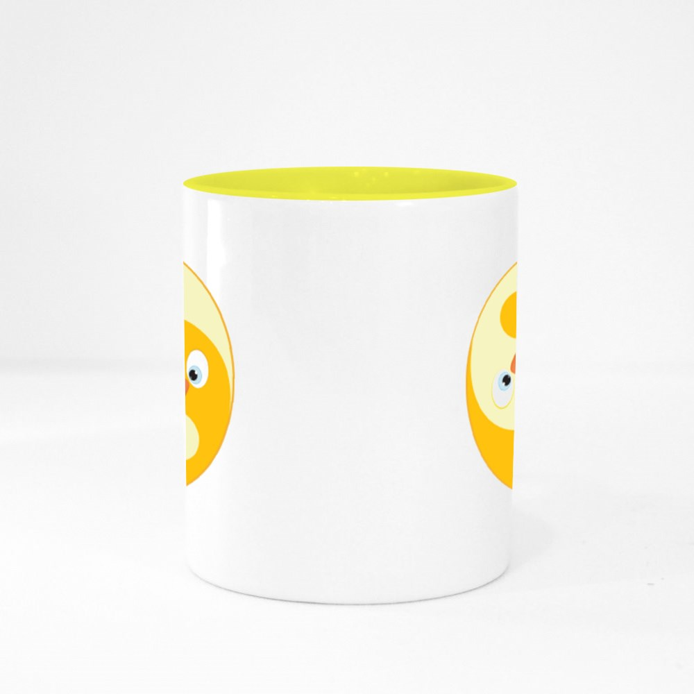 Bird Ying Yang of Harmony Colour Mugs