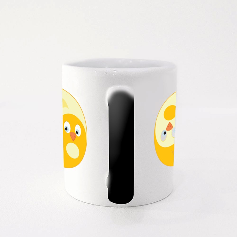 Bird Ying Yang of Harmony Magic Mugs