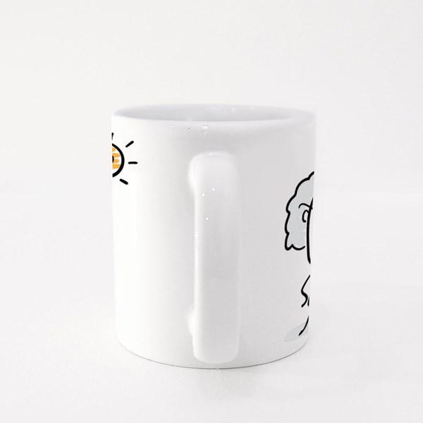 Professor Hand Drawn Doodle Colour Mugs