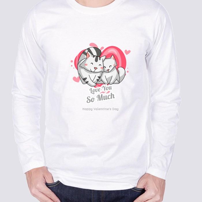 Valentine Day Design Long Sleeve T-Shirts