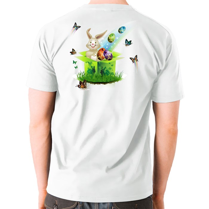 Happy Easter T-Shirts (Front & Back)