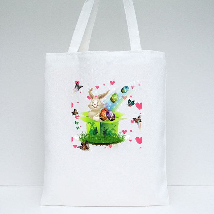 Happy Easter Tote Bags
