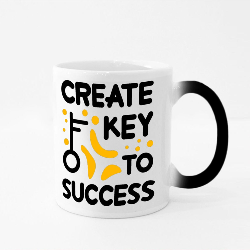 Create Key to Success Magic Mugs