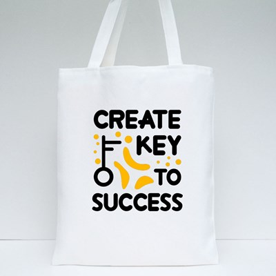 Create Key to Success Tote Bags