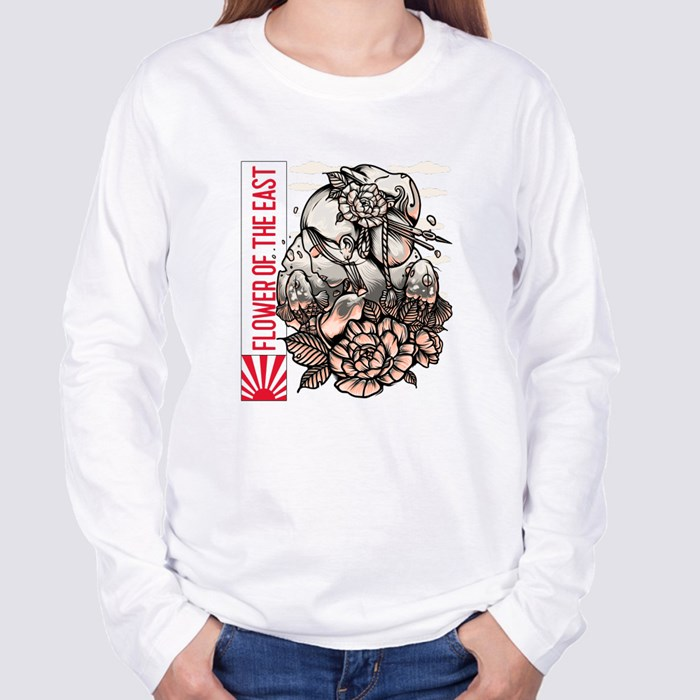 Flower of the East Long Sleeve T-Shirts