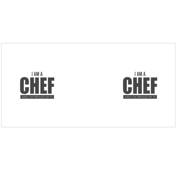 I Am a Chef and Proud of It Colour Mugs