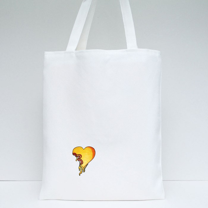 My Heart Melts by Ernest Tote Bags