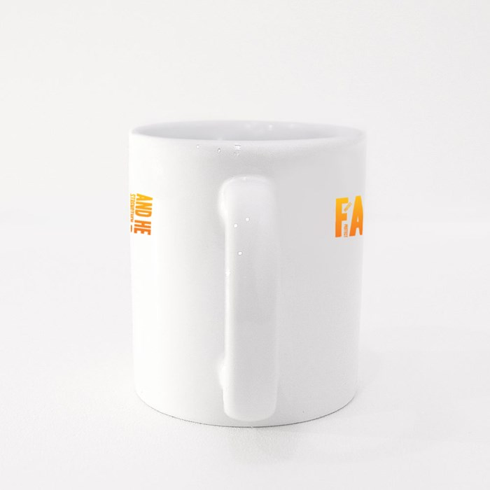 But the Lord Is Faithful Colour Mugs