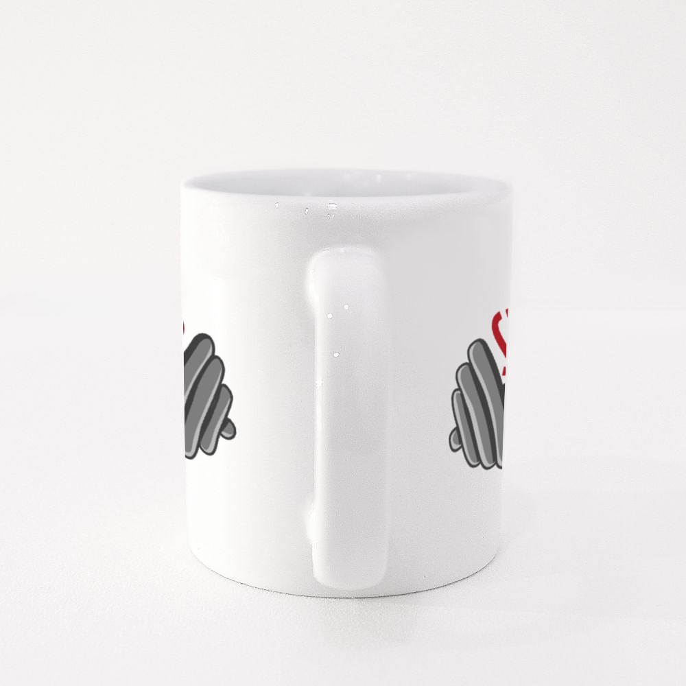 You Are Stronger Than You Think Dumbbell Colour Mugs