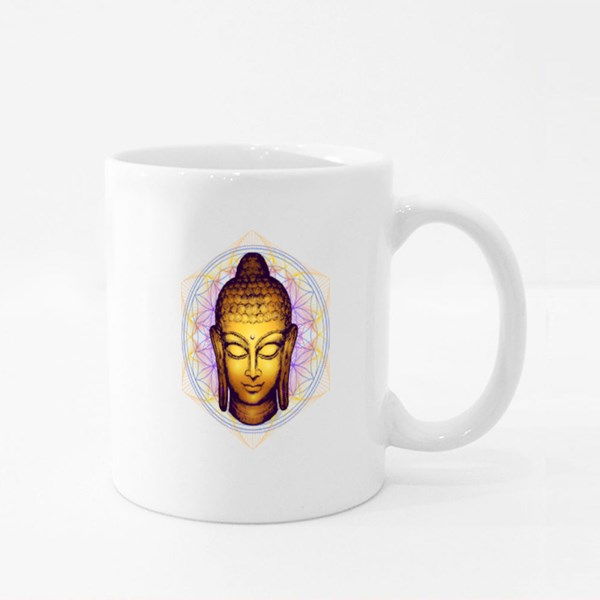 Existential Image of Buddha Colour Mugs