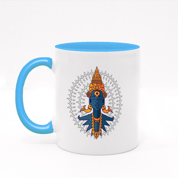 Indian God Vitobha Colour Mugs