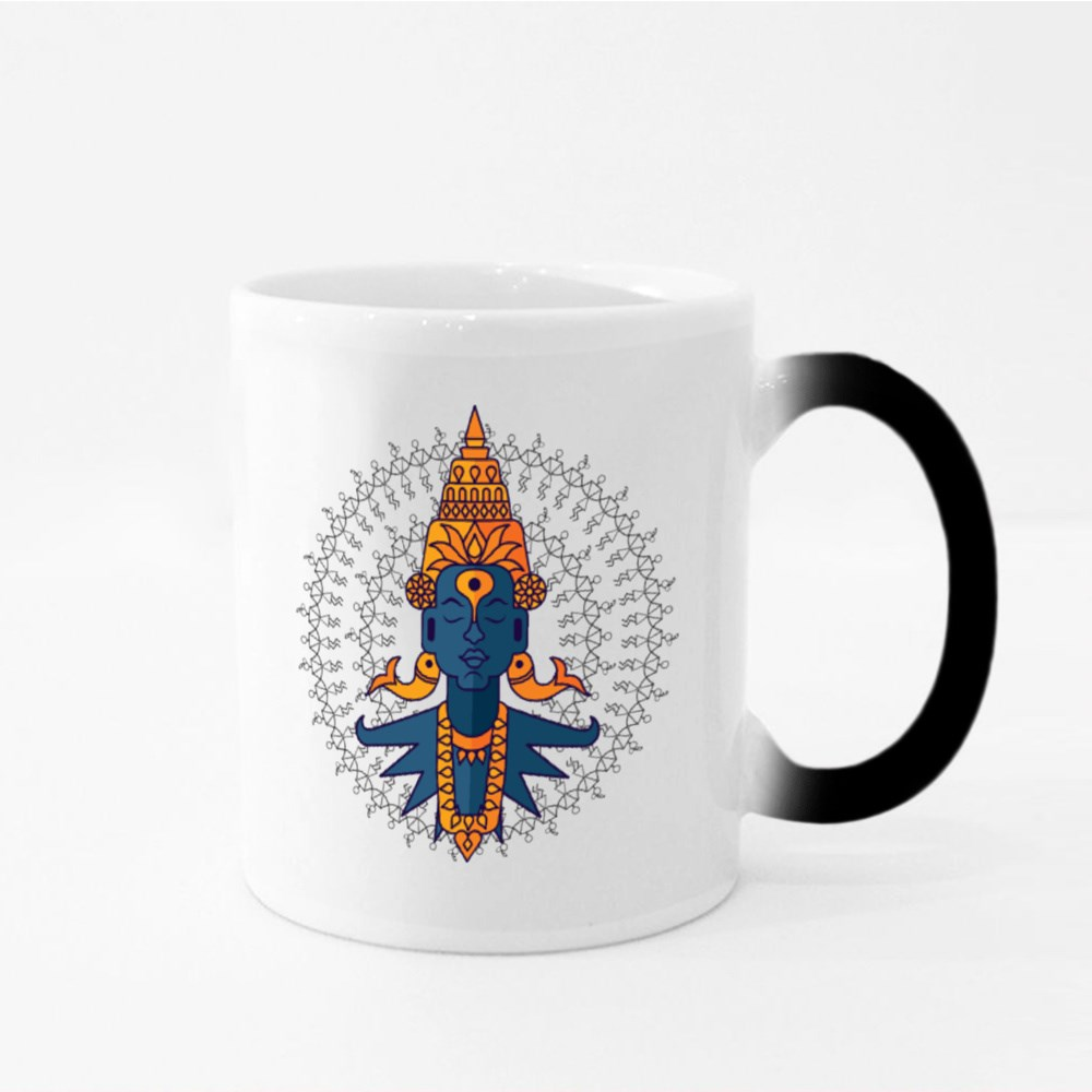 Indian God Vitobha Magic Mugs