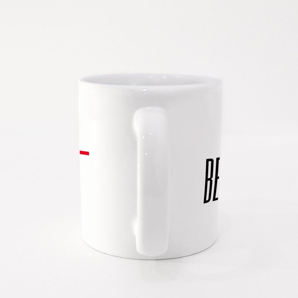 Be the Light With a Cross Colour Mugs