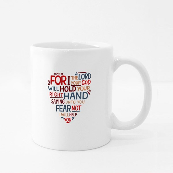 For I Your Lord Colour Mugs