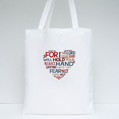 For I Your Lord Tote Bags