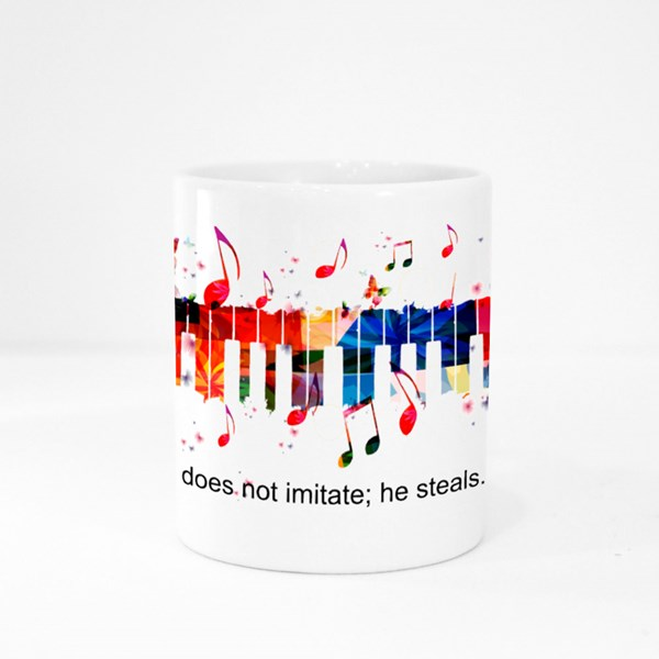 Creative Music Style Template Colour Mugs