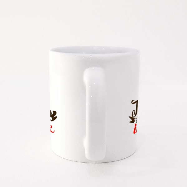 There Is No Fear in Love Colour Mugs