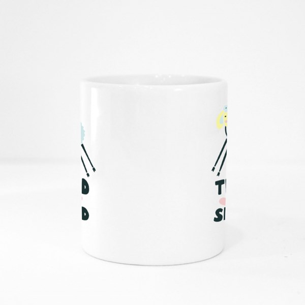 The Lord Is My Shepherd Colour Mugs