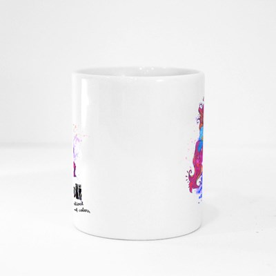 Holi Festival of Colors Magic Mugs