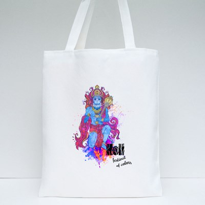 Holi Festival of Colors Tote Bags